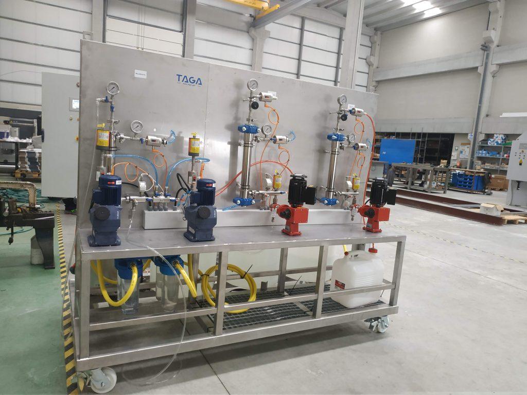 planta piloto TAGA tecnología ambiental Gallega para el tratamiento de aguas residuales industria agroalimentaria