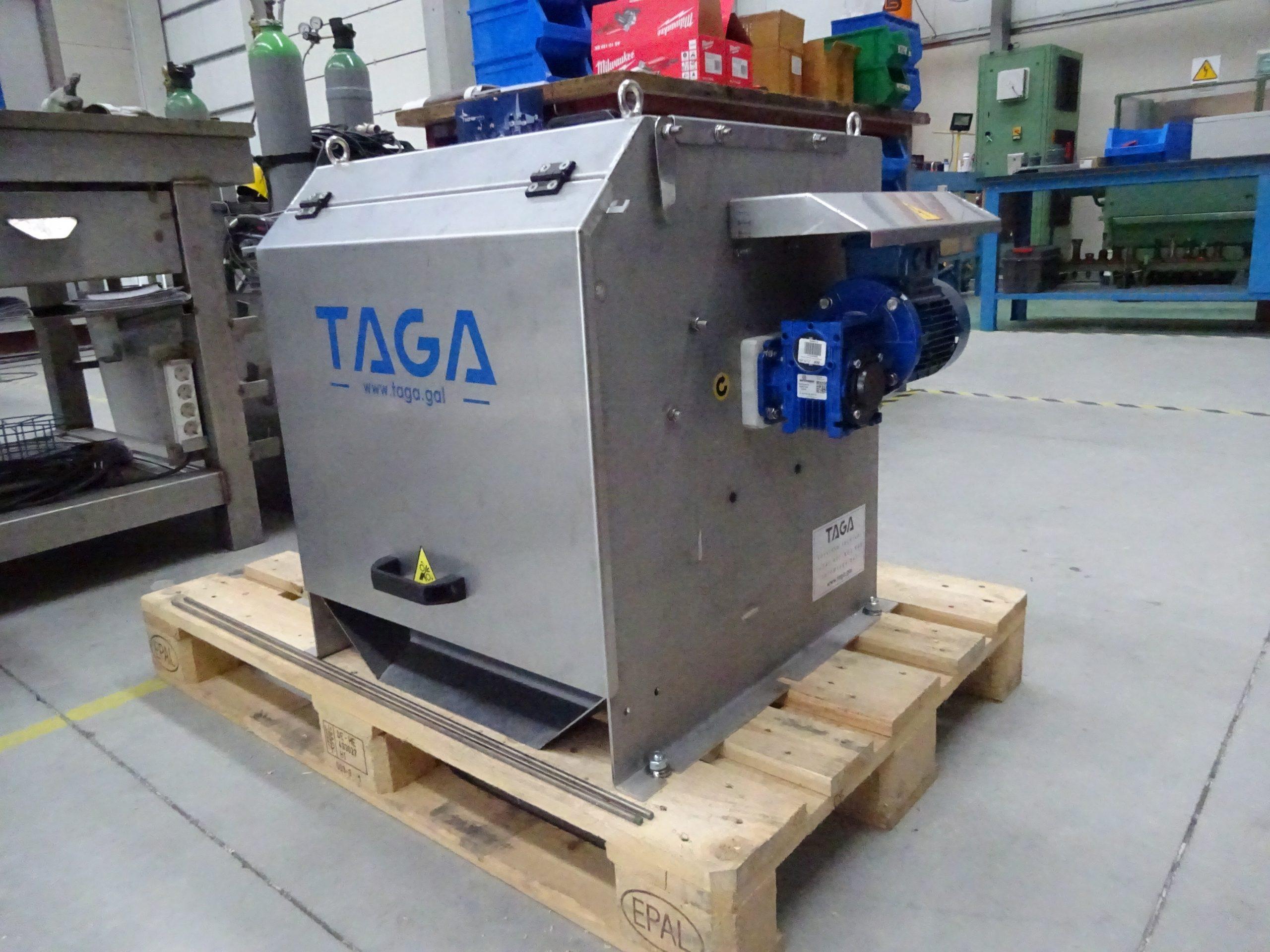 taga tecnología ambiental gallega tamiz rotativo