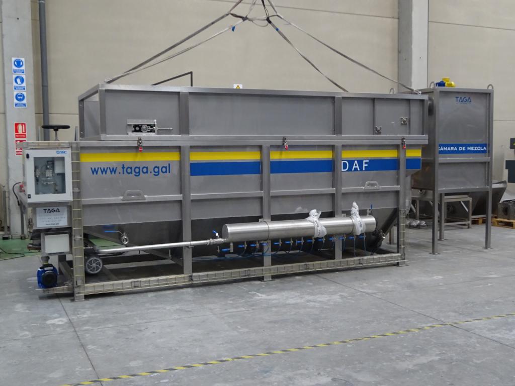 taga tecnología ambiental gallega daf flotación por aire disuelto