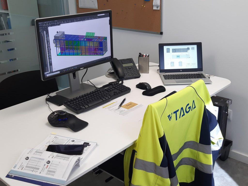 Diseño de equipamiento - TAGA Tecnología Ambiental Gallega