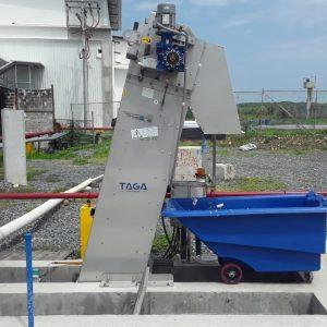 Reja de desbaste | TAGA - Tecnología Ambiental Gallega